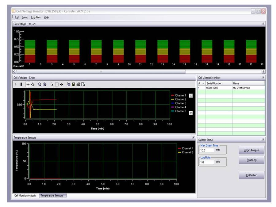 Cell Voltage Monitor Configuration Software